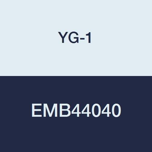 YG-1 EMB44040 4.0 mm Carbide V7 Mill INOX Corner Radius End Mill, 4 Flute, Short Length, 54 mm Length