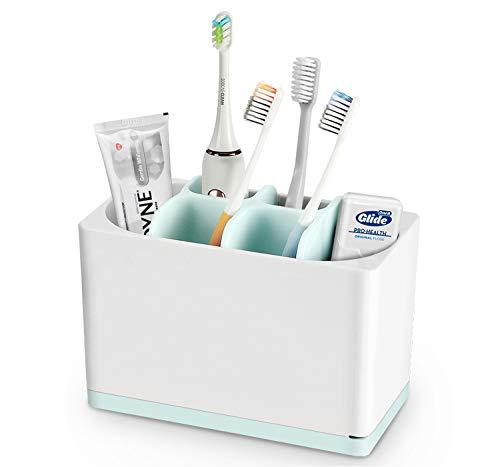 Luvan Toothbrush Holder White/Blue Big