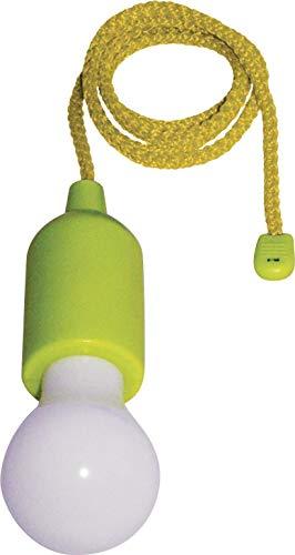 Incidence Paris 17497 AMPOULE CLIC LED - Vert, Base en ABS/PVC