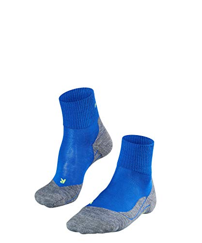 FALKE TK5 Short M So Chaussettes de randonnée Homme, Bleu (Yve 6714), 42-43