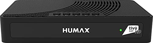 Humax – Ricevitore Satellitare HD con codifica S2 HD-3601S2 + scheda Tivùsat