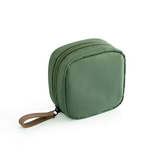 YYZZ Bolsas de cosméticos, 1 Pieza Mini Bolsa de cosméticos de Flamenco de Color sólido, Bolsa de Almacenamiento de artículos de tocador de Viaje de Cactus, Bolsa de Maquillaje de Belleza