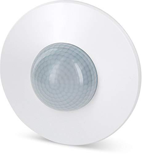 Aufputz Infrarot Bewegungsmelder 360° 230V - mit Dämmerungssensor - Reichweite 20m einstellbar - LED geeignet ab 1W-2000W