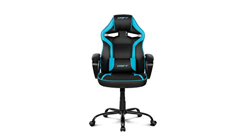 Drift DR50BL - Silla Gaming Profesional, (Polipiel Alta Calidad, Ergonomica), Color Negro/Azul