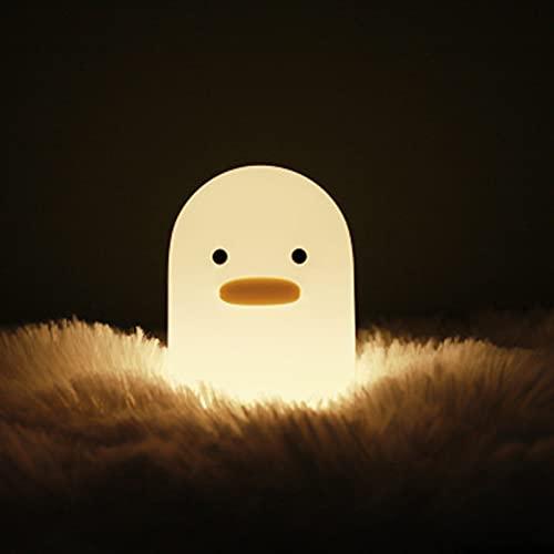 HNNH Lámpara de mesa mesita de noche LED creativo dormitorio lámpara de mesa mesita de noche bebé lámpara de enfermería niños dormitorio decoración habitación niños luces LED, recargable