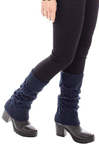 Polaina de tricô Sumaré 31072 - Azul