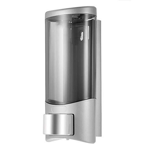 YCX Nicht Perforierter Seifenspender Für Die Wand Im Haushalt, Küchenseifenspender Zuhause Gesundheitswesen,Silber