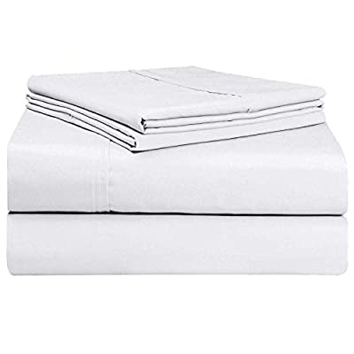 Divine Textiles Flat Bed Sheet 400 Thread Count Hotel Quality
