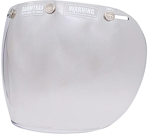 ダムトラックス(DAMMTRAX) ヘルメットシールド MIRROR TOY SHIELD FLASH