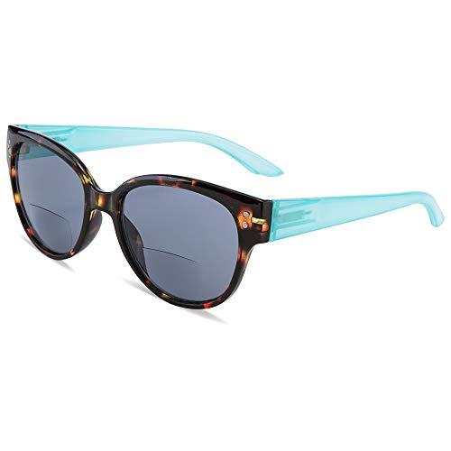EYEGUARD Bifocal Reading Sunglasses UV400 Protection Readers for Women Comfortable Stylish Reading glasses