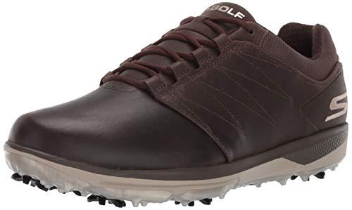 Skechers Men#039s Pro 4 Waterproof Golf Shoe Chocolate 9 M US