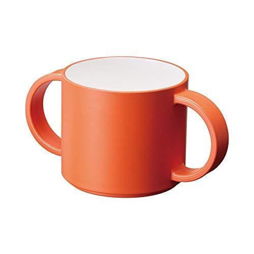 タック 子供用マグ オレンジ 12.8×7.2×6.3cm キッズディッシュ マグ JTN-0140-OR