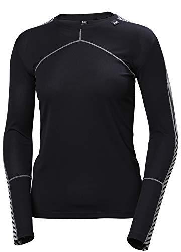 Helly Hansen W HH LIFA Crew – T-shirt respirant et isolant pour femme – Vêtement thermique sport – Idéal pour l'alpinisme, le ski et le trek