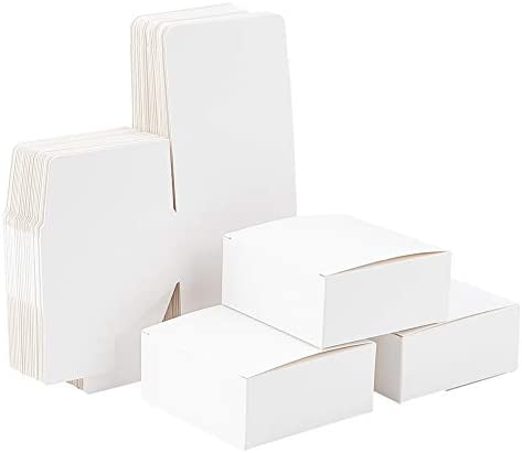 PH PandaHall 30 Pack Soap Box Homemade Soap Packaging Cardboard Box Packing Boxes for Soap Making product image