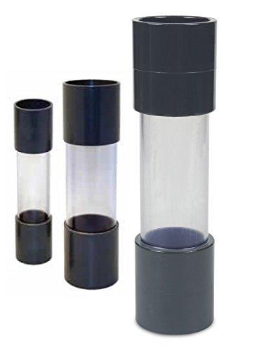 AquaForte Sichtglas, mit Klebemuffe 50 mm