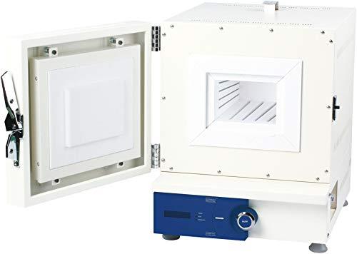 Witeg Muffelofen FHP-03 3L 300-1200°C programmierbar, inklusive Keramikfaserplatte, für Aschebestimmung, Emaillieren, Fusionen und Kondensattrocknung