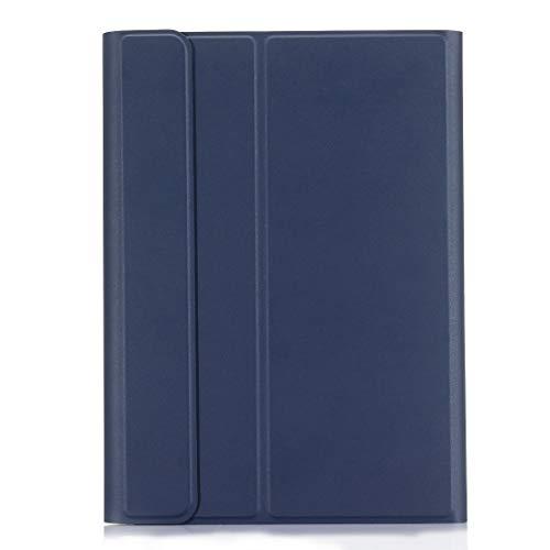 Xyamzhnn Funda telefónica para Samsung Galaxy Tab S6 10.5 Pulgadas T860 / T865 Teclado Bluetooth Bluetooth Funda con Soporte y Pluma Función (Color : Blue)