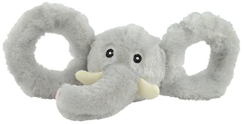Jolly Pets Tug-A-Mals Jouet en Forme d'Eléphant pour Chien Taille XL