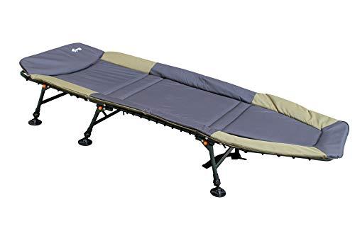 CarpOn - Cama de Acampada para Exterior, 208 cm de Largo, Unisex, Grün Classic, Medium