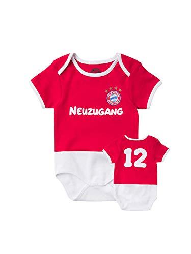 FC Bayern München Baby Body Neuzugang, 74/80