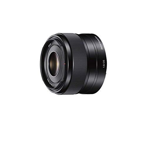 Sony SEL-35F18 Obiettivo a Focale Fissa 35 mm F1.8, Mirrorless APS-C, Attacco E, Nero