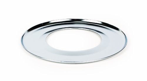 Camco 00363 7 Round Gas Drip Pan (Chrome) by Camco