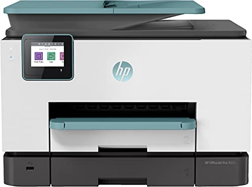 HP OfficeJet Pro 9025 (3UL05B) Stampante Multifunzione a Getto di inchiostro, Stampa, Scansiona, Fotocopia, Fax, Wifi, A4, HP Smart, Smart Tasks, 6 Mesi di Instant Ink Inclusi nel Prezzo, Oasis