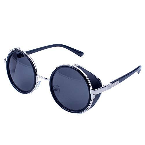 ZEZKT gafas de sol polarizadas para hombre o mujer lente de espejo de moda unisex gafas de sol de viaje retro vintage casual sunglasses K