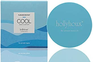 Cool Liquid Cushion Flawless Skin Compact - Oil Control, Cuts Greasy Shine and Pores Appear Visibly Smaller. Non GMO and Cruelty Free.