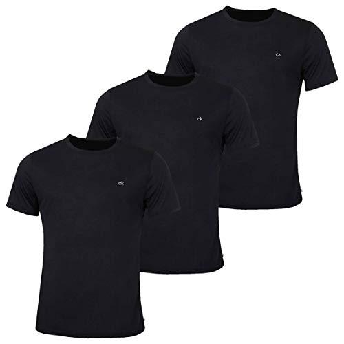Calvin Klein Golf Mens 3-Pack T-Shirt - Black - M