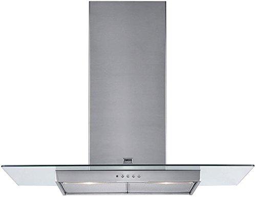 Zanussi ZHC950 schouwkap alu 440 m³/h Isla Aluminio - Campana (440 m³/h, Canalizado/Recirculación, 61 dB, Isla, Aluminio, 40 W)