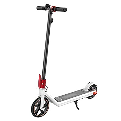 Electric Scooters Foldable Kugoo Kirin Mini 2 Portable E-kick Scooters 150W Motor 15km Range 3 Speeds Suitable for Children Teenager and Kids Electric Scooter with Scooter Storage Bag Solid Rear Tire