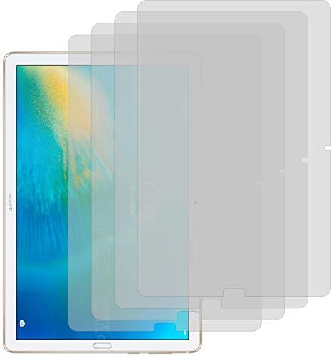 4ProTec I 4X Schutzfolie KLAR passgenau für Huawei MatePad 10.8 - Bildschirmschutzfolie Schutzhülle