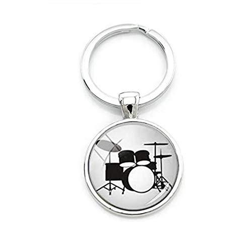 Schlüsselanhänger Schlüsselring Schlagzeug Spieler Drummer Rock'n roll Hard Rock