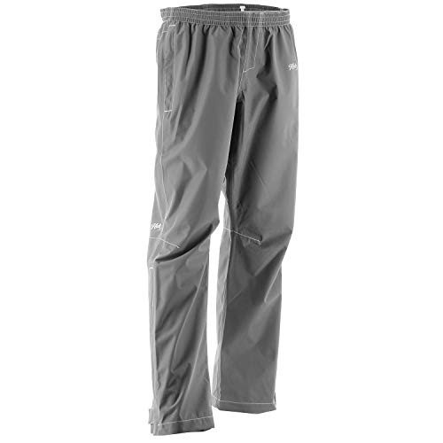 Huk Women's Packable Water Proof & Wind Proof Performance Rain Pant, Charcoal, Small