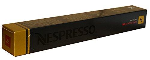 Nespresso Kapseln Volluto Decaffeinato - 1er Pack, 10 Kapseln (gold) - Entkoffeiniert