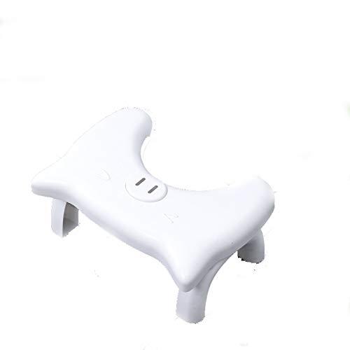 Medizinische Toilettenhilfe Tritthocker,Faltbar Squatty Potty,ToiletSquat Toilettenhocker,Wc Hocker Toiletten-Stuhl,Perfekte Höhe für die empfohlene Haltung,Toilettenhocker für eine gesunde Darmflora