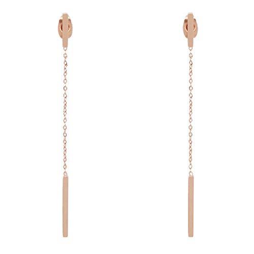 Parfois - Pendiente Stainless Steel Rose Gold - Mujeres - Tallas Única - Dorado