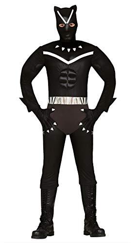 FIESTAS GUIRCA Disfraz de Pantera Negra para Disfraz de Hombre Cosplay