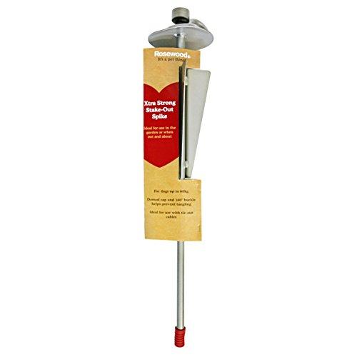 Rosewood 25011 Anlegepflock für Auslaufleine, extrastarker