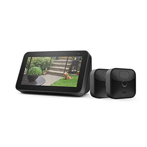 Blink Outdoor 2 Cam Kit Bundle with Echo Show 5 Now $119 (Was 264.98)