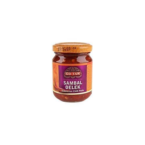 Go · Tan-Sambal Oelek - Südostasiatische scharfe Sauce mit Peperoni - 100 g