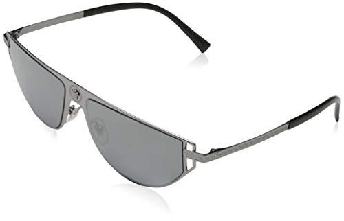 Ray-Ban Herren 0VE2213 Sonnenbrille, Rot (Gunmetal), 57.0