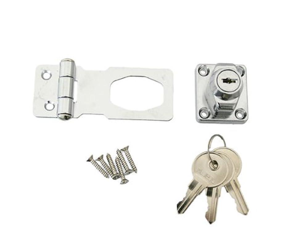 保証世紀サービスハイロジック 鍵つき掛金錠 60ミリ 3本キー J-455