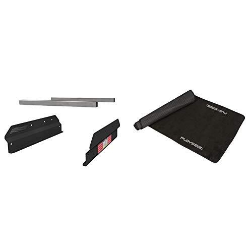 【セット買い】Next Level Racing モーションアダプター Adapter Plate PlaySeat Evolutionシリーズ Revolution専用 NLR-M002 【国内正規品】 & Playseat プレイシート フロアマット