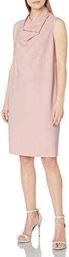 Anne Klein Women s Cowl Neck Sheath Dress Devonshire M product image