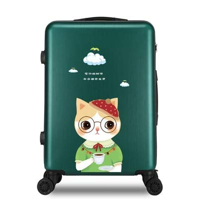 Mdsfe 20/22/24/26 inch girl students trolley case Travel spinner luggage child rolling suitcase fashion Boarding box - 6.20'