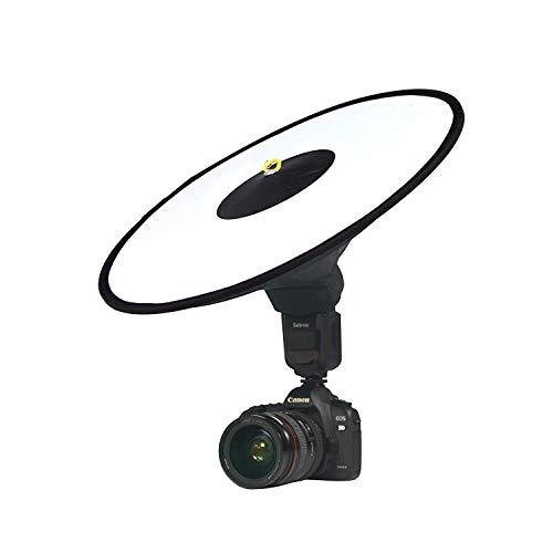 Run Shuangyu Schnell Zusammenklappbarer Diffusor Round Softbox für Canon Nikon Sony Yongnuo Fotografie Speedlite Licht Flash, passt S-Typ Klammer, Bowens, Elinchrom Halterung (nur Softbox enthalten)