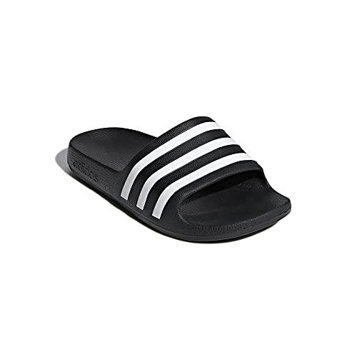 Adidas Aqua Kids Adilette Chanclas, color Negro, talla 32 EU