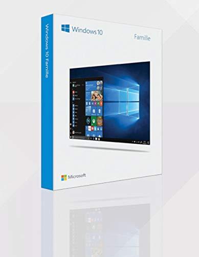 Windows 10 Famille USB | Français | 1 PC | 32/64 Bit | Flash Drive | Original Product | Box | Nouveau | Windows 10 Home USB | French